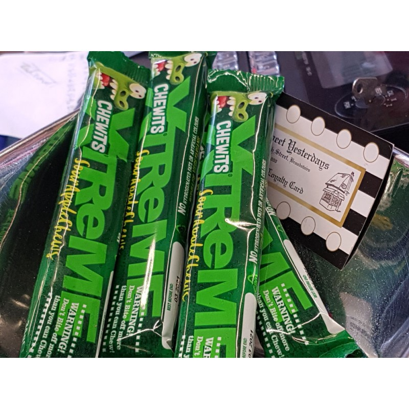 Chewits Apple Extreme