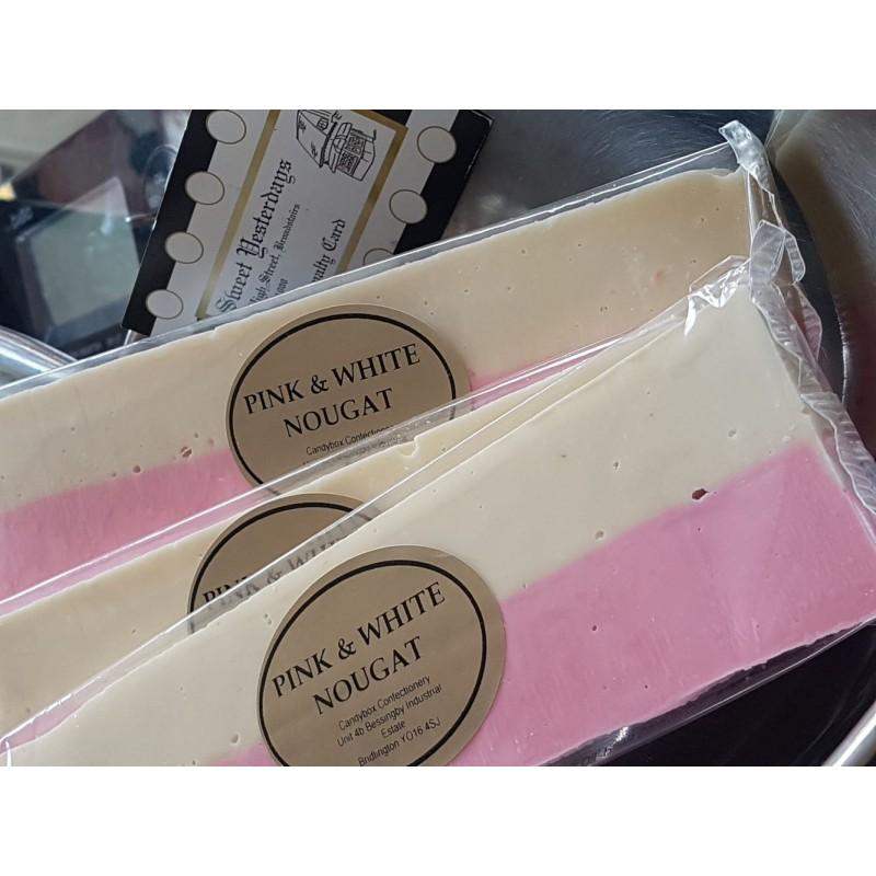 Pink n White Nougat