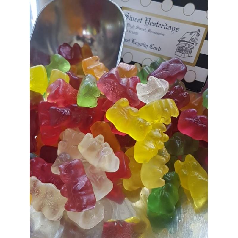 Sugar Free - Gold Bears  (S/F)